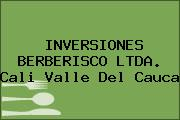 INVERSIONES BERBERISCO LTDA. Cali Valle Del Cauca