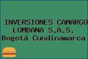 INVERSIONES CAMARGO LOMBANA S.A.S. Bogotá Cundinamarca