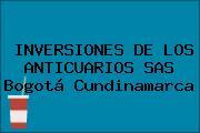 INVERSIONES DE LOS ANTICUARIOS SAS Bogotá Cundinamarca