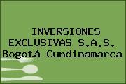 INVERSIONES EXCLUSIVAS S.A.S. Bogotá Cundinamarca