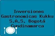 Inversiones Gastronomicas Kukku S.A.S. Bogotá Cundinamarca