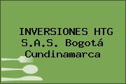 INVERSIONES HTG S.A.S. Bogotá Cundinamarca