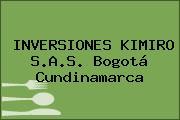 INVERSIONES KIMIRO S.A.S. Bogotá Cundinamarca