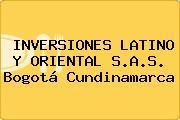 INVERSIONES LATINO Y ORIENTAL S.A.S. Bogotá Cundinamarca