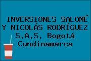 INVERSIONES SALOMÉ Y NICOLÁS RODRÍGUEZ S.A.S. Bogotá Cundinamarca