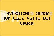 INVERSIONES SENSAI WOK Cali Valle Del Cauca