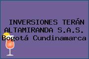 INVERSIONES TERÁN ALTAMIRANDA S.A.S. Bogotá Cundinamarca