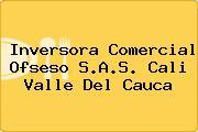 Inversora Comercial Ofseso S.A.S. Cali Valle Del Cauca