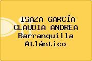 ISAZA GARCÍA CLAUDIA ANDREA Barranquilla Atlántico