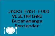 JACKS FAST FOOD VEGETARIANO Bucaramanga Santander