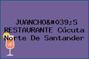 JUANCHO'S RESTAURANTE Cúcuta Norte De Santander