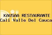 KAUSAA RESTAURANTE Cali Valle Del Cauca