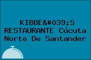 KIBBE'S RESTAURANTE Cúcuta Norte De Santander