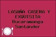 LASAÑA CASERA Y EXQUISITA Bucaramanga Santander