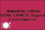 MANDARÍN COMIDA CHINA EXPRESS Bogotá Cundinamarca