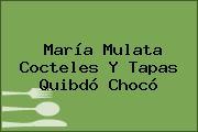 María Mulata Cocteles Y Tapas Quibdó Chocó