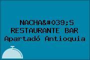 NACHA'S RESTAURANTE BAR Apartadó Antioquia