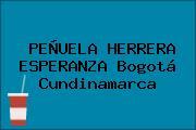 PEÑUELA HERRERA ESPERANZA Bogotá Cundinamarca
