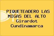 PIQUETEADERO LAS MIGAS DEL ALTO Girardot Cundinamarca