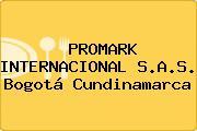 PROMARK INTERNACIONAL S.A.S. Bogotá Cundinamarca