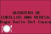 QUINTERO DE CUBILLOS ANA REBECA Buga Valle Del Cauca