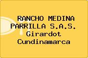RANCHO MEDINA PARRILLA S.A.S. Girardot Cundinamarca