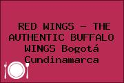 RED WINGS - THE AUTHENTIC BUFFALO WINGS Bogotá Cundinamarca
