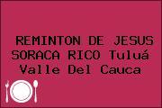 REMINTON DE JESUS SORACA RICO Tuluá Valle Del Cauca