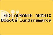 RESTAURANTE ABASTO Bogotá Cundinamarca
