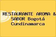 RESTAURANTE AROMA & SABOR Bogotá Cundinamarca