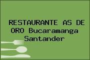 RESTAURANTE AS DE ORO Bucaramanga Santander