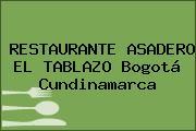RESTAURANTE ASADERO EL TABLAZO Bogotá Cundinamarca