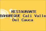 RESTAURANTE BAHAREQUE Cali Valle Del Cauca