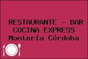 RESTAURANTE - BAR COCINA EXPRESS Montería Córdoba