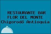 RESTAURANTE BAR FLOR DEL MONTE Chigorodó Antioquia