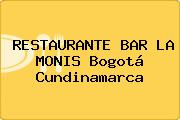 RESTAURANTE BAR LA MONIS Bogotá Cundinamarca
