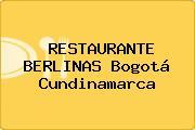RESTAURANTE BERLINAS Bogotá Cundinamarca