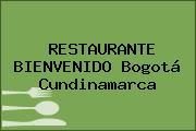 RESTAURANTE BIENVENIDO Bogotá Cundinamarca