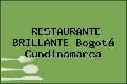 RESTAURANTE BRILLANTE Bogotá Cundinamarca