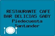RESTAURANTE CAFE BAR DELICIAS GABY Piedecuesta Santander