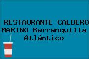 Restaurante Caldero Marino Barranquilla Atlántico
