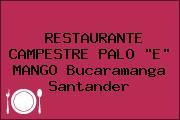 RESTAURANTE CAMPESTRE PALO