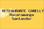 RESTAURANTE CANELLY Bucaramanga Santander