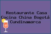 Restaurante Casa Cocina China Bogotá Cundinamarca