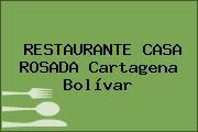 RESTAURANTE CASA ROSADA Cartagena Bolívar