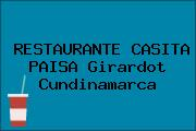 RESTAURANTE CASITA PAISA Girardot Cundinamarca