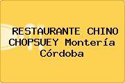 RESTAURANTE CHINO CHOPSUEY Montería Córdoba