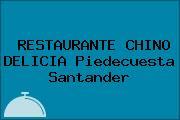 RESTAURANTE CHINO DELICIA Piedecuesta Santander