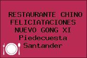 RESTAURANTE CHINO FELICIATACIONES NUEVO GONG XI Piedecuesta Santander