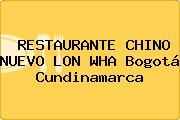 RESTAURANTE CHINO NUEVO LON WHA Bogotá Cundinamarca
